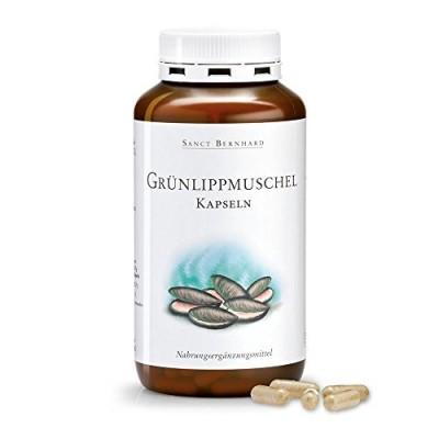 Sanct Bernhard Grünlippmuschel-Kapseln 500 mg 300 Kapseln